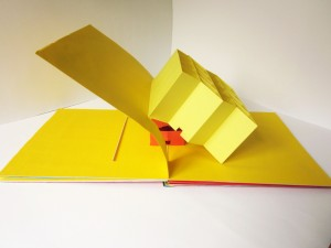 Pop-up book Cleopatra's Riddle